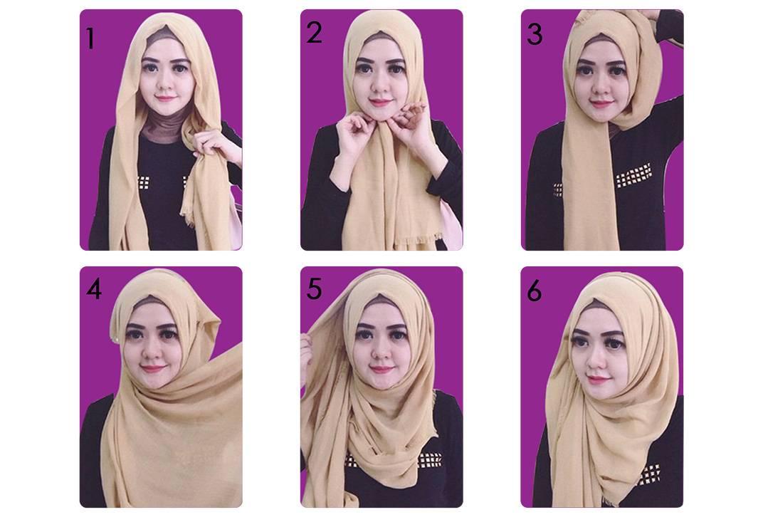 Tutorial Hijab Untuk Wajah Bulat Agar Terkesan Oval